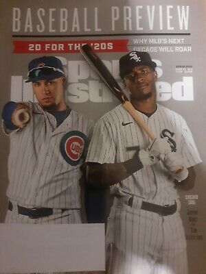 Sports Illustrated Spring 2020 Baseball 2020 Preview Chicago Cubs White Sox Baez