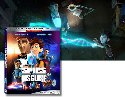 SPIES in DISGUISE - DVD+ARTWORK+CASE 2020 < Will Smith >