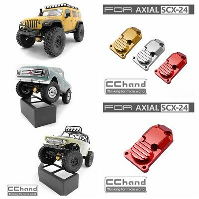 Metal front/rear axle cover protection for Axial SCX24 1/24 rc car 1pc