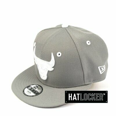 New Era - Chicago Bulls Grey Wheat Youth Snapback