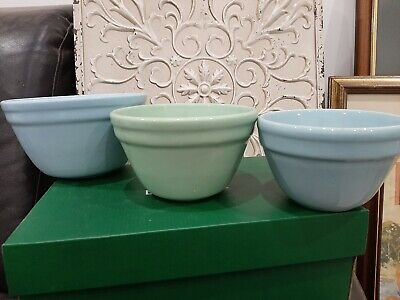 Vintage Kitchen Mixing Bowls Fowler Ware