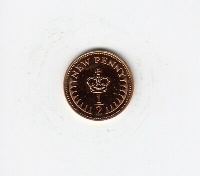 1972 HALF PENNY 1/2p PROOF Condition Extremely Nice Coin   (4691)