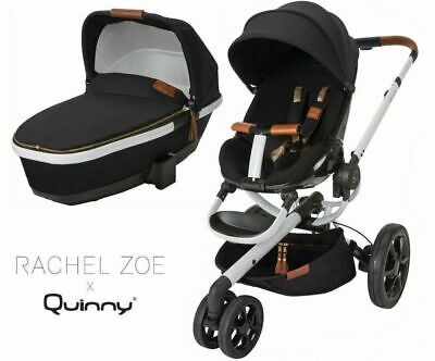 Pushchair Quinny Moodd -Pushchair Carrycot and Footmuff - Rachel Zoe Edition