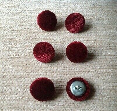 24L 15mm Oatmeal Crushed Velvet Upholstery Fabric Covered Buttons