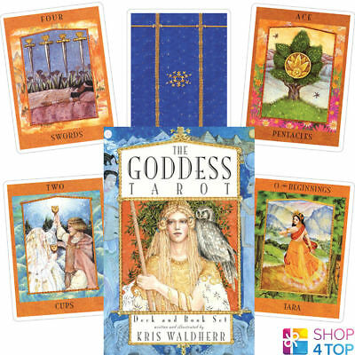 The Goddess Tarot Cards Deck And Book Set Telling Us Games Systems New