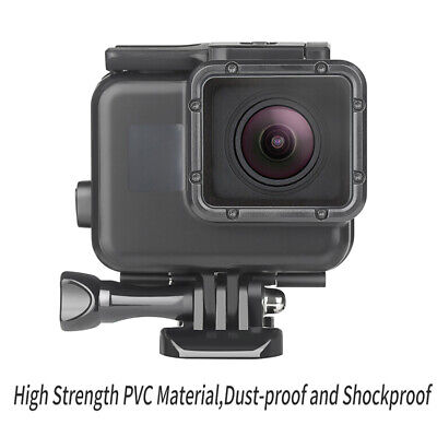 Case Fit Gopro Hero 7 Black 60m Waterproof Diving Housing Cover Protective Shell