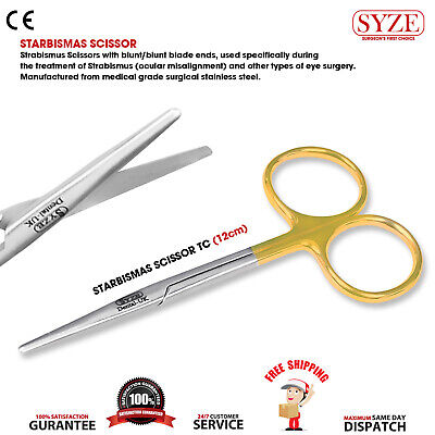 Starbismas Scissors TC Dental Oral Surgery Starbismas Shears Dental Instruments