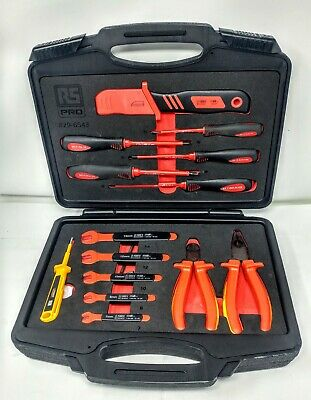 RS PRO 14 Piece Engineers Tool Kit