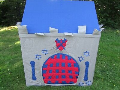 Knight's Castle Children's Playhouse / Play Tent / Wendy House Boys