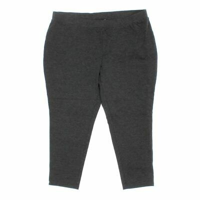 Philosophy Women's Capri Pants size 3X,  grey,  rayon, nylon, spandex