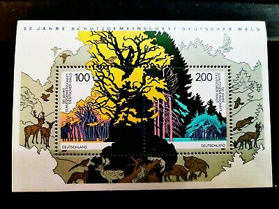 Germany, Society for the saving of forest, 50th Anniversary 1997 stamp mint