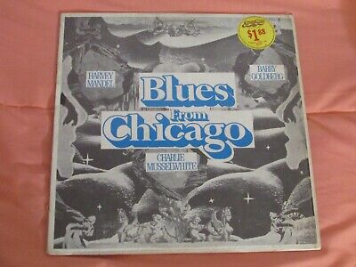 VARIOUS ARTISTS .. BLUES FROM CHICAGO LP .. Cherry Red .. VG/VG+