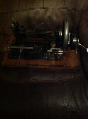 Vintage Frister & Rossmann Sewing Machine