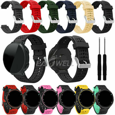 For Garmin Forerunner 220/230/235/630/620/735XT Silicone Sports Watch Band Strap