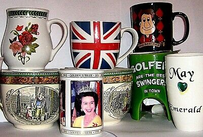 UK LOGO - COFFEE MUGS - CHINA or FINE CHINA  click on SELECT to browse or order