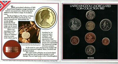 1983 Royal Mint Coin Set - Brilliant Uncirculated