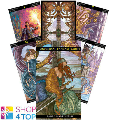 Universal Fantasy Tarot Deck Cards Esoteric Fortune Telling Lo Scarabeo New