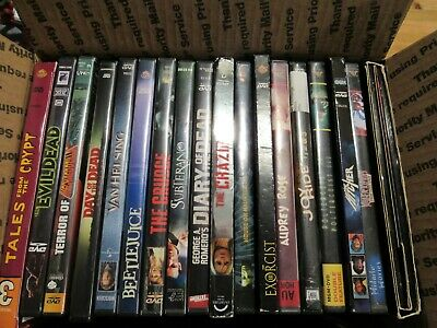 Horror DVD Lot Of 18