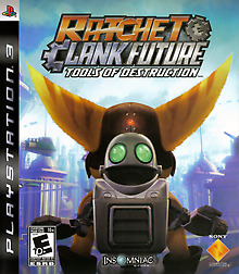 Ratchet & Clank Future: Tools of Destruction ( PS3 Sony Playstation 3 ) Tested!