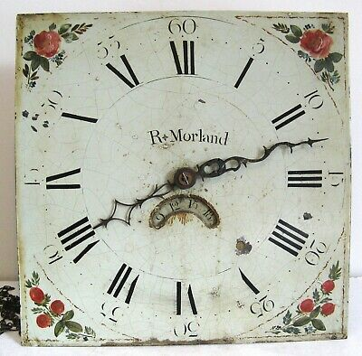 A Good 18th Century Longcase  Movement - Richard Morland - Yorkshire.