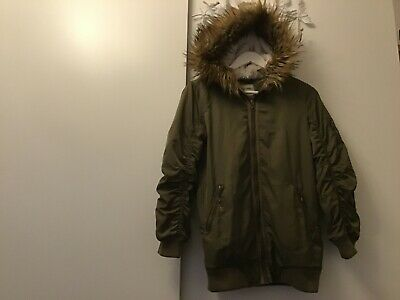 Girls Next Parker style Jacket with hood age 11years