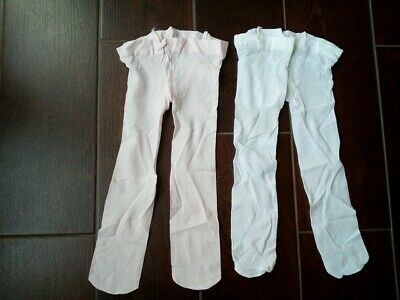 Lot Neuf 2 Collants Voile Fille 2 Ans