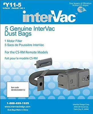Intervac Vac Y115 Genuine Dust Cleaner Dust Bags for CSRM Models