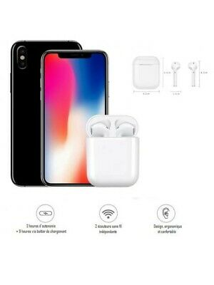 Ecouteurs Bluetooth Sans Fil  Pods Intra auriculaire I9S TWS iOS - Android ✅
