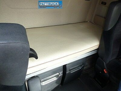 Fits Mercedes Actros Mp4 Big,Giga Space Truck Eco Leather  Bed Cover -Beige
