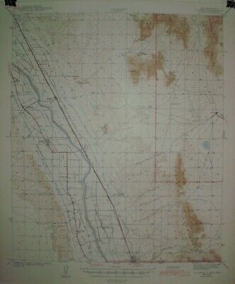 3 USGS Topographic Maps 15 minute from southern New Mexico with railroads