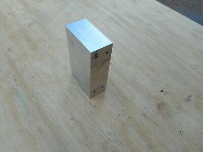 "1 PC. Used 5 5/8"" Long x 3 5/16"" Wide x 1 3/4"" Thick Solid Aluminum Block"