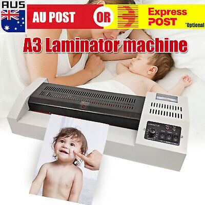 A3 A4 Laminating Laminator Machine Office Commercial Cold Hot Mounted Thermal J