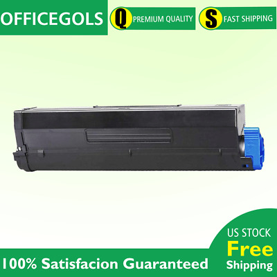 LD Compatible Okidata 45807110 Black Toner 2PK for MB492 B512dn MB562w B432dn