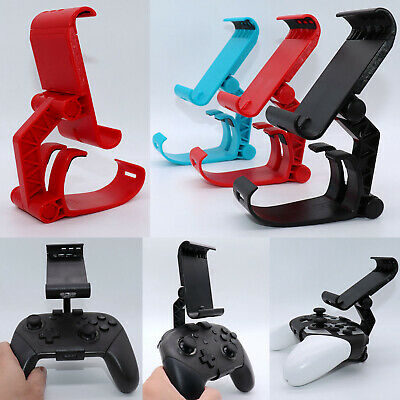 Adjustable Clip Gamepad Bracket Holder Clamp Mount for NS Switch/Lite Controller