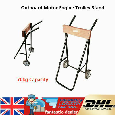 Outboard Motor Engine Trolley Stand//Transport Wheel heavy duty UP-TO 70KG UKship