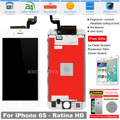 For iPhone 6S LCD Screen Replacement Digitizer Display 3D Touch Assembly White