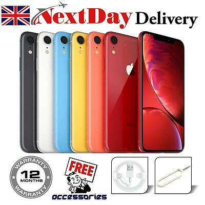 Apple iPhone XR  64GB 128GB Unlocked Network SIM FREE Various Grades & Colour