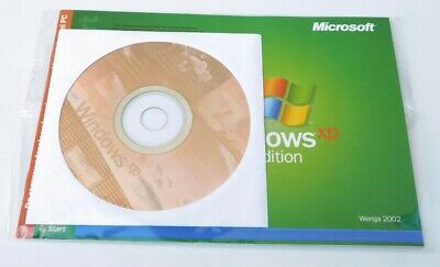 Windows Xp Home Edition Sp3 Cd Disc + Original License Coa Full Product