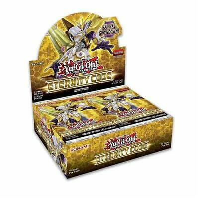 Yugioh TCG Eternity Code 1st Edition Booster Box Factory Sealed 24 Packs