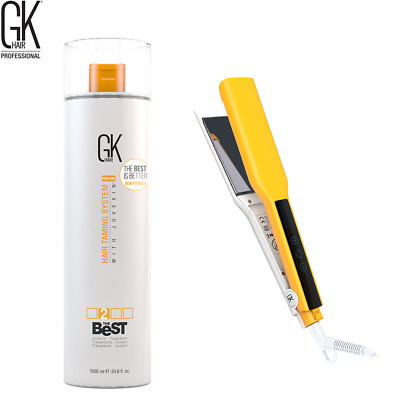 GKhair The Best Keratin Hair Smoothing Treatment and Easy Control Iron 1000 ml