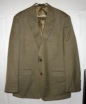 Mens Lauren Ralph Lauren 2 Button Houndstooth Blazer - Size 46 Regular