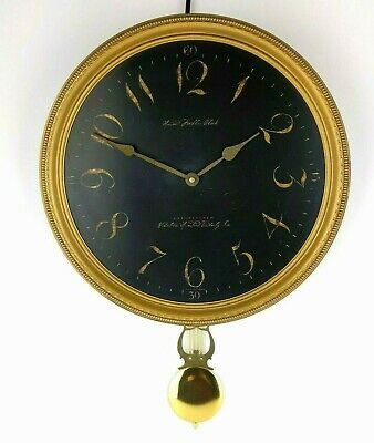 Howard Miller Paris Night Moment in Time Pendulum Wall Clock 620-449 Quartz 15""