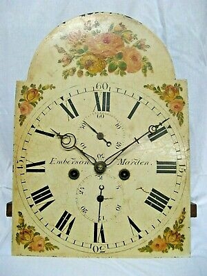 A Very Good Longcase Dial & Movement - Emberson of Marden - Kent - Complete.