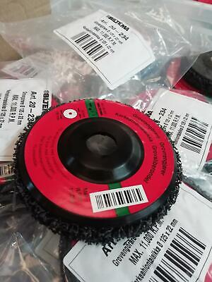 """1 x 125mm clean strip discs 5""""  stripping paint metal plastic from metal paint"""