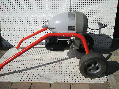 Ridgid 115-Volt K-1500SP Sectional Sewer and Drain Cleaning Machine 1HP