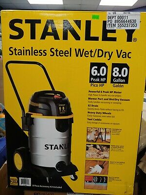 Pick up only (zip 20151) Stanley stainless steel wet/dry Vaccum