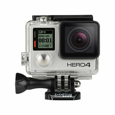GoPro HERO4 Silver Action Camera/Camcorder + Waterproof Housing + LCD Screen