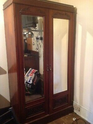 Victorian Wardrobe..double..moderate size