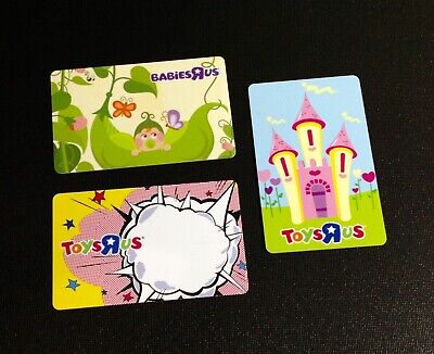 🇨🇦 Canada Toys R Us Gift Card ----- Lot Of 3 Pcs. ----- New