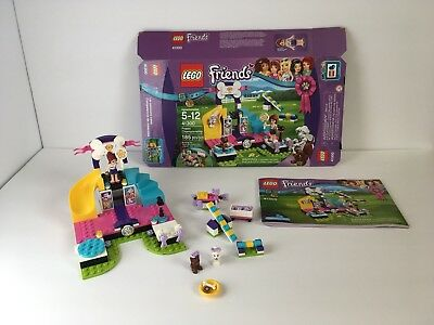 Lego Friends Puppy Championship 41300 Complete Box Mia Minifigure Manual Toy